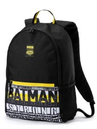 Puma 'Justice League Batman' Backpack Bag (075459-01) x5: £11.95